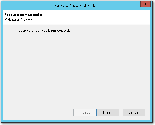 finishing the setup process for syncing a calendar to mozilla thunderbird from your mdaemon email server account