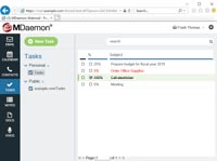 MDaemon Webmail - Tasks (To-Do Lists)