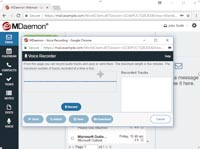 MDaemon Webmail - Voice Recorder