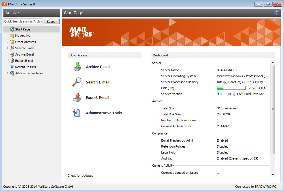 Free Email Archiving Software Download