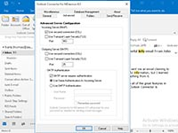 Outlook Connector for MDaemon - Advanced Settings